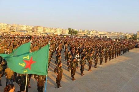 Soldaten van Rojava